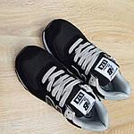 Женские кроссовки New Balance 574 (черные) 20143, фото 6