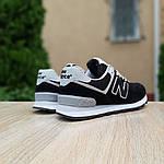 Женские кроссовки New Balance 574 (черные) 20143, фото 8