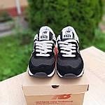 Женские кроссовки New Balance 574 (черные) 20143, фото 9