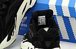 Женские кроссовки Adidas Yееzy 700 Рефлективные (черные) 12169, фото 5