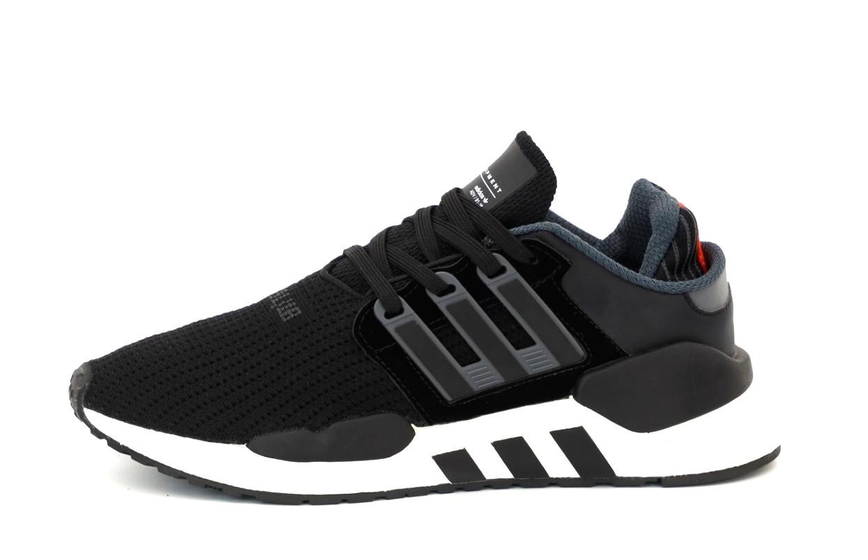 Чоловічі кросівки Adidas EQT (чорно-білі) 12168