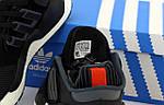 Чоловічі кросівки Adidas EQT (чорно-білі) 12168, фото 6