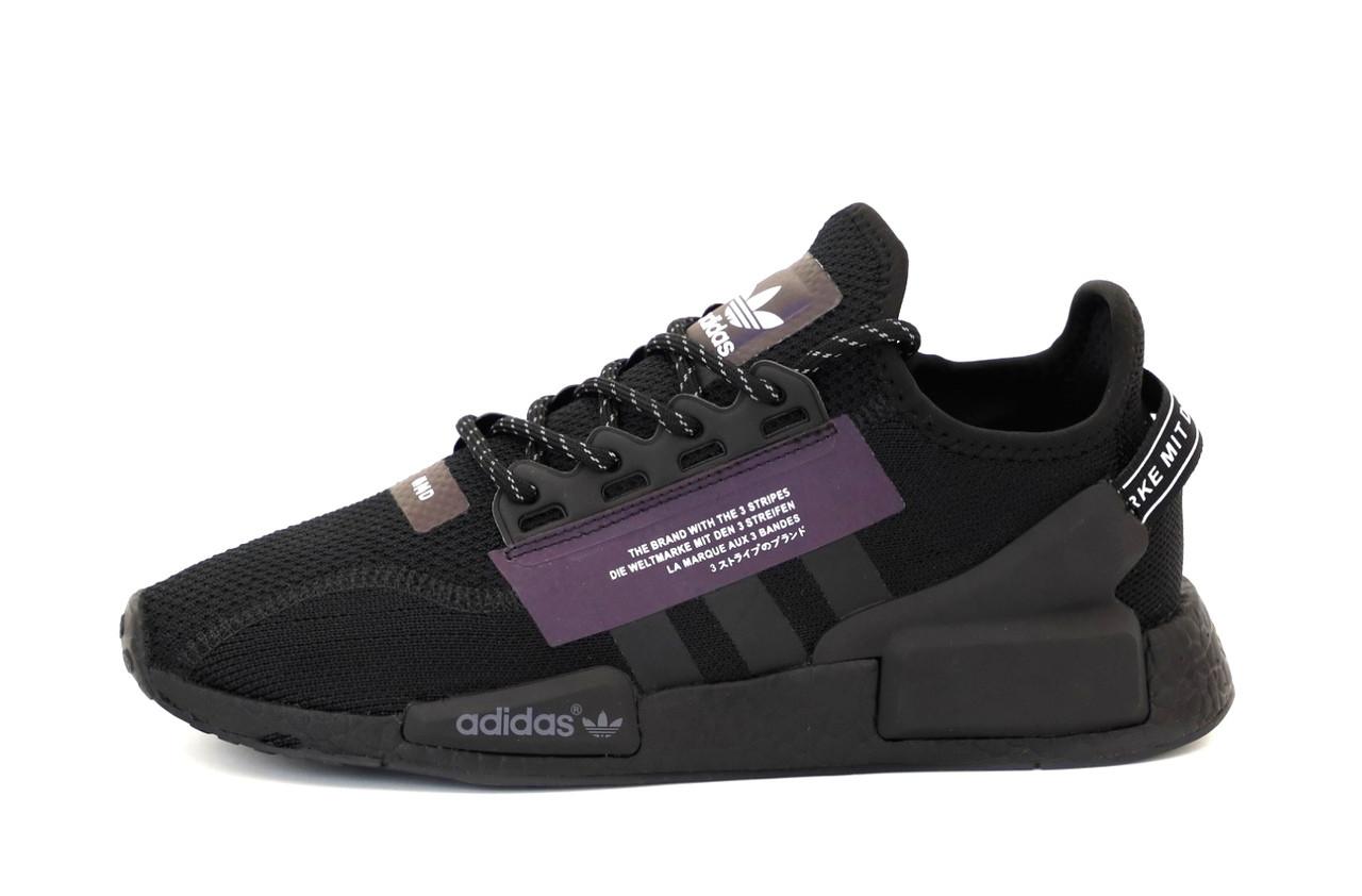 Чоловічі кросівки Adidas NMD R1 V2 (чорні) 12167