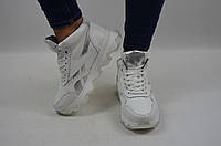 Ботинки женские зимние спортивные SAV CROS  50-9 белые кожа (последний 36 размер), фото 1