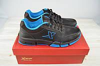 Кроссовки мужские X-TEP 320953 чёрные ПВХ, фото 1
