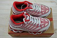 Кроссовки детские Bona 501K-11 красно-белые кожа + текстиль (последний 33 размер), фото 1