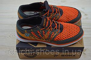 Кроссовки подростковые Bona 508Ф-2 оранжевые текстиль