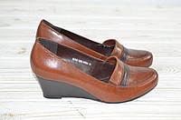 Туфли женские Beletta 0312 коричневые кожа, фото 1