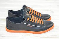 Кроссовки подростковые унисекс Ditas 100-2 сильвер чёрные кожа, фото 1