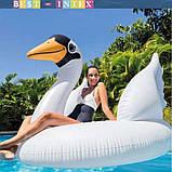 """Intex Пліт надувний матрац """"Лебідь"""" 57557 розміром 130х102х99 см, від 3 років, (Оригінал), фото 3"""