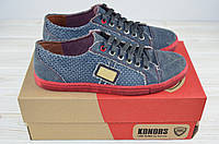 Кроссовки мужские Konors 449-5-45 синие котон, фото 1