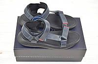 Мужские сандали Bertoni 29406 синие кожа, фото 1