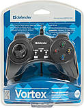 Геймпад Defender Vortex (64249) Black USB, фото 3