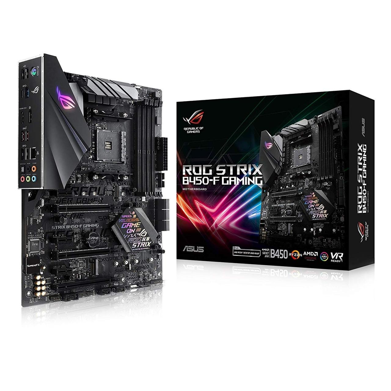 Материнская плата Asus ROG Strix B450-F Gaming Socket AM4