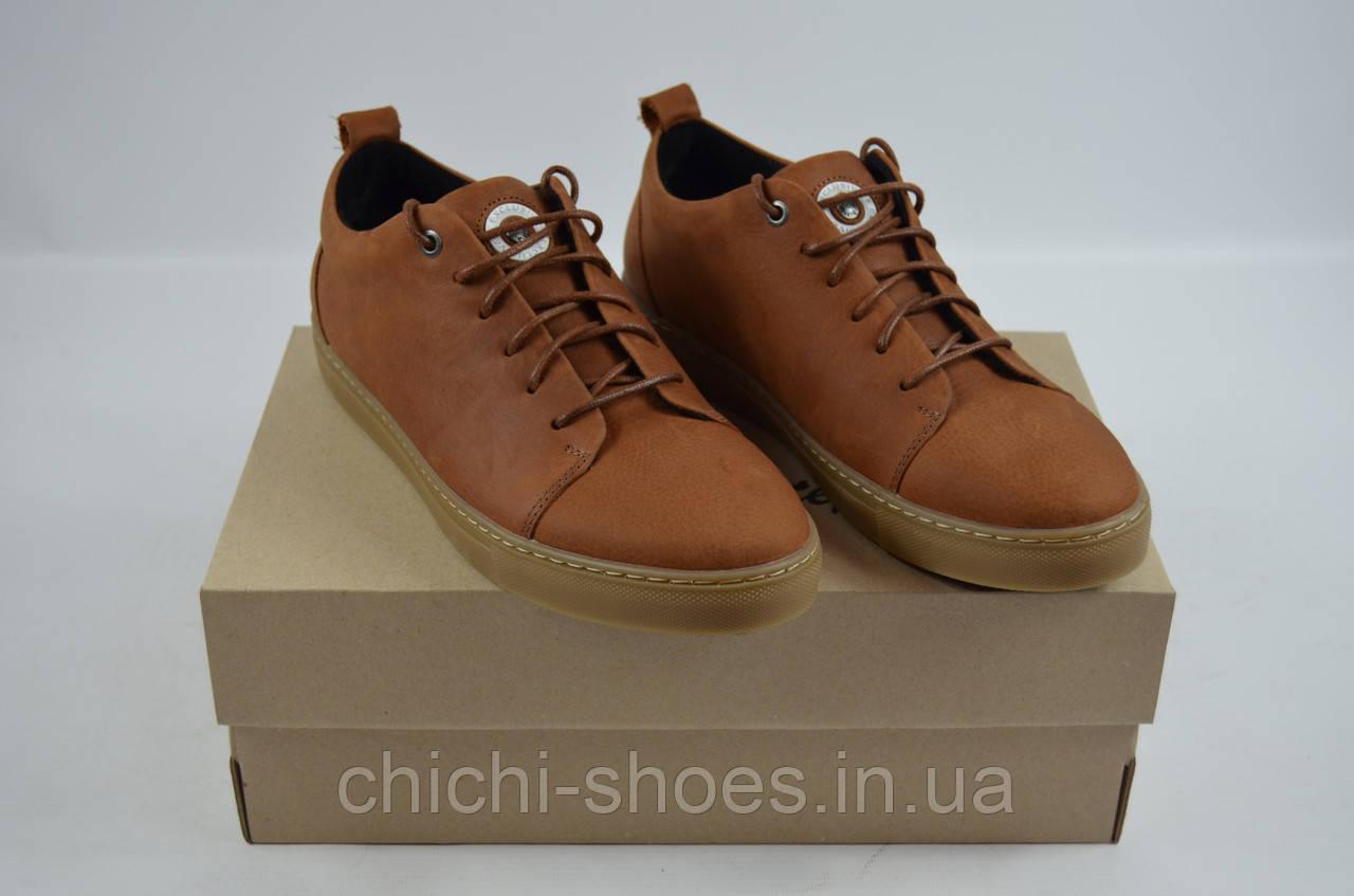 Туфли мужские Step Wey 5570 коричневые кожа на шнурках