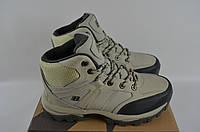 Ботинки подростковые спортивные зимние Бона 694М-2-6 бежевые нубук, фото 1