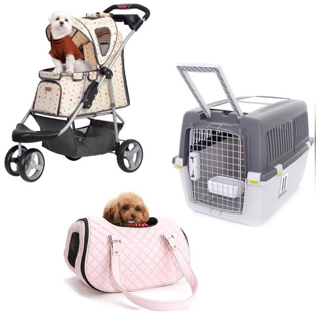Переноски, сумки, коляски и тележки для собак