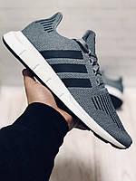 Кроссовки Мужские Adidas Original (Адидас) Swift Run,Original,Grey
