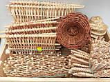 Вітряки плетені з лози, зоготовка для поробок 11*11 см  25 грн, фото 8