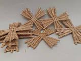 Вітряки плетені з лози, зоготовка для поробок 11*11 см  25 грн, фото 9