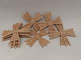 Вітряки плетені з лози, зоготовка для поробок 11*11 см  25 грн, фото 6