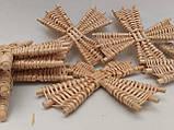 Вітряки плетені з лози, зоготовка для поробок 11*11 см  25 грн, фото 4