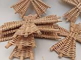 Вітряки плетені з лози, зоготовка для поробок 11*11 см  25 грн, фото 5