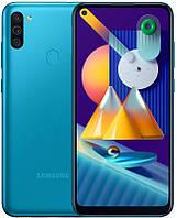 "Смартфон Samsung Galaxy M11 SM-M115 Dual Sim Blue (SM-M115FMBNSEK); 6.4"" (1560х720) TFT / Qualcomm Snapdragon 450 / ОЗУ 3 ГБ / 32 ГБ встроенной +"