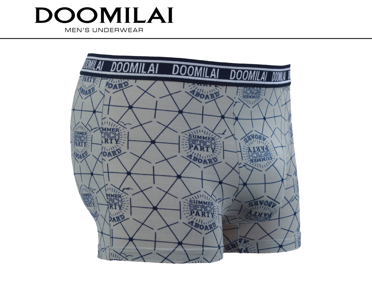 Мужские боксеры стрейчевые из бамбука «DOOMILAI» Арт.D-01358