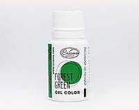 Краситель гелевый Criamo мини, зеленый лес, 10 грамм