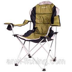 Кресло-шезлонг складное Ranger FC750-052 - Зеленое