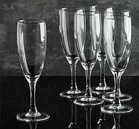 "Набор бокалов 170 мл  для шампанского ""French Brasserie"" Luminarc 6 шт."