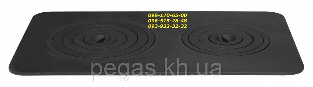 Плита чавунна 740х440 барбекю, мангал, піч, грубу, чавунне литво