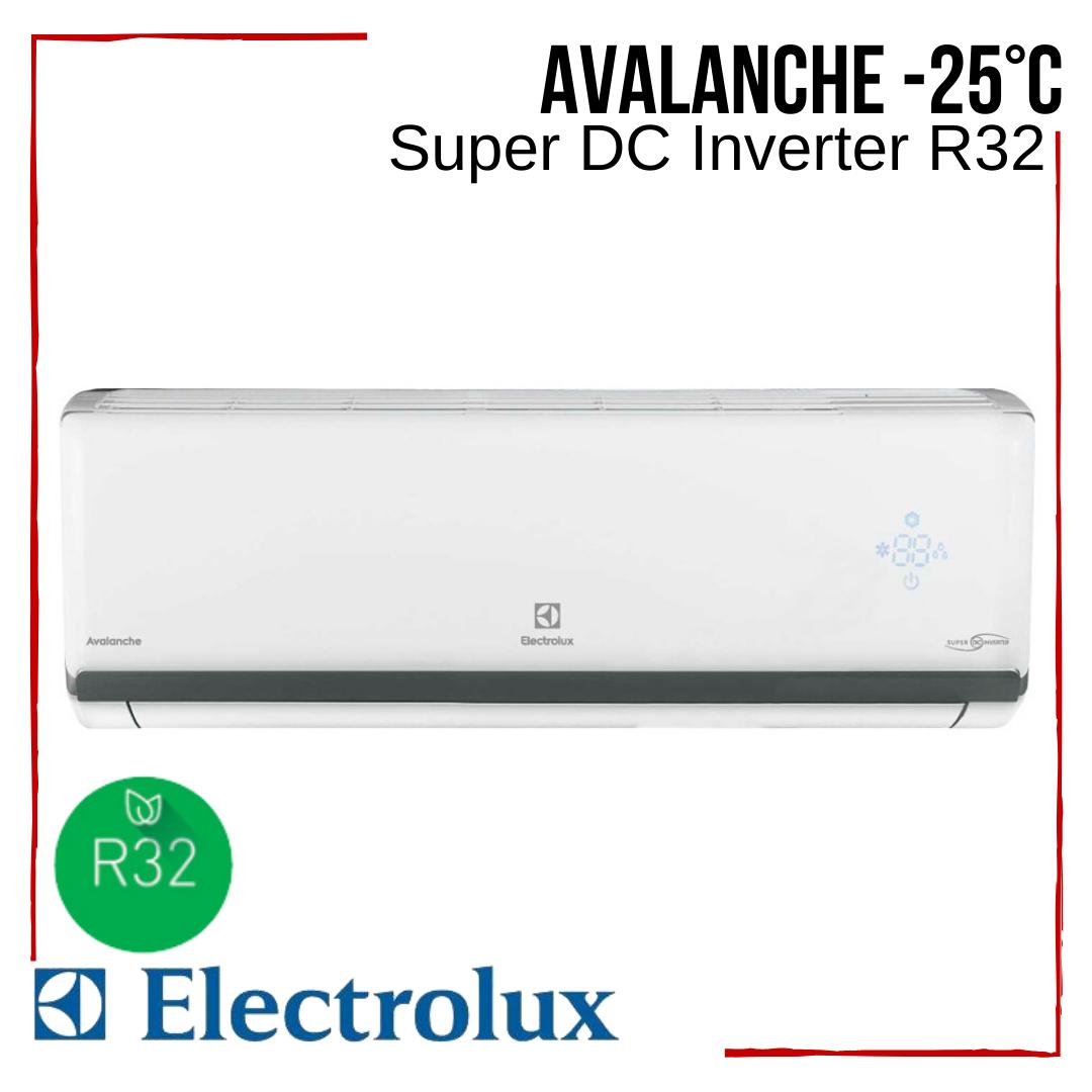 Кондиционер Electrolux EACS/I-24HAV/N8_19Y Avalanche Super DC Іnverter R32 тепловой насос -25°С