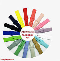 Ремешок для Apple Watch Series 1/2/3/4, 38/40/42/44 мм силиконовый браслет, фото 1