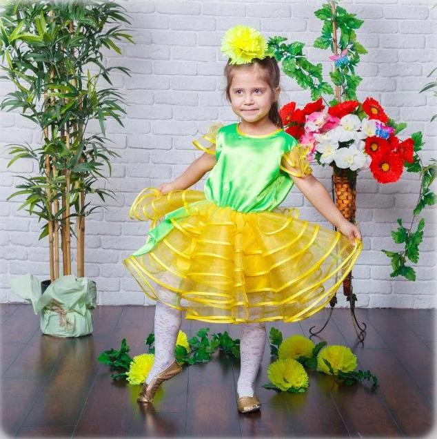 Карнавальна сукня Кульбаба