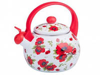 Эмалированный чайник Zauberg 9/L Red Handle 2,2л