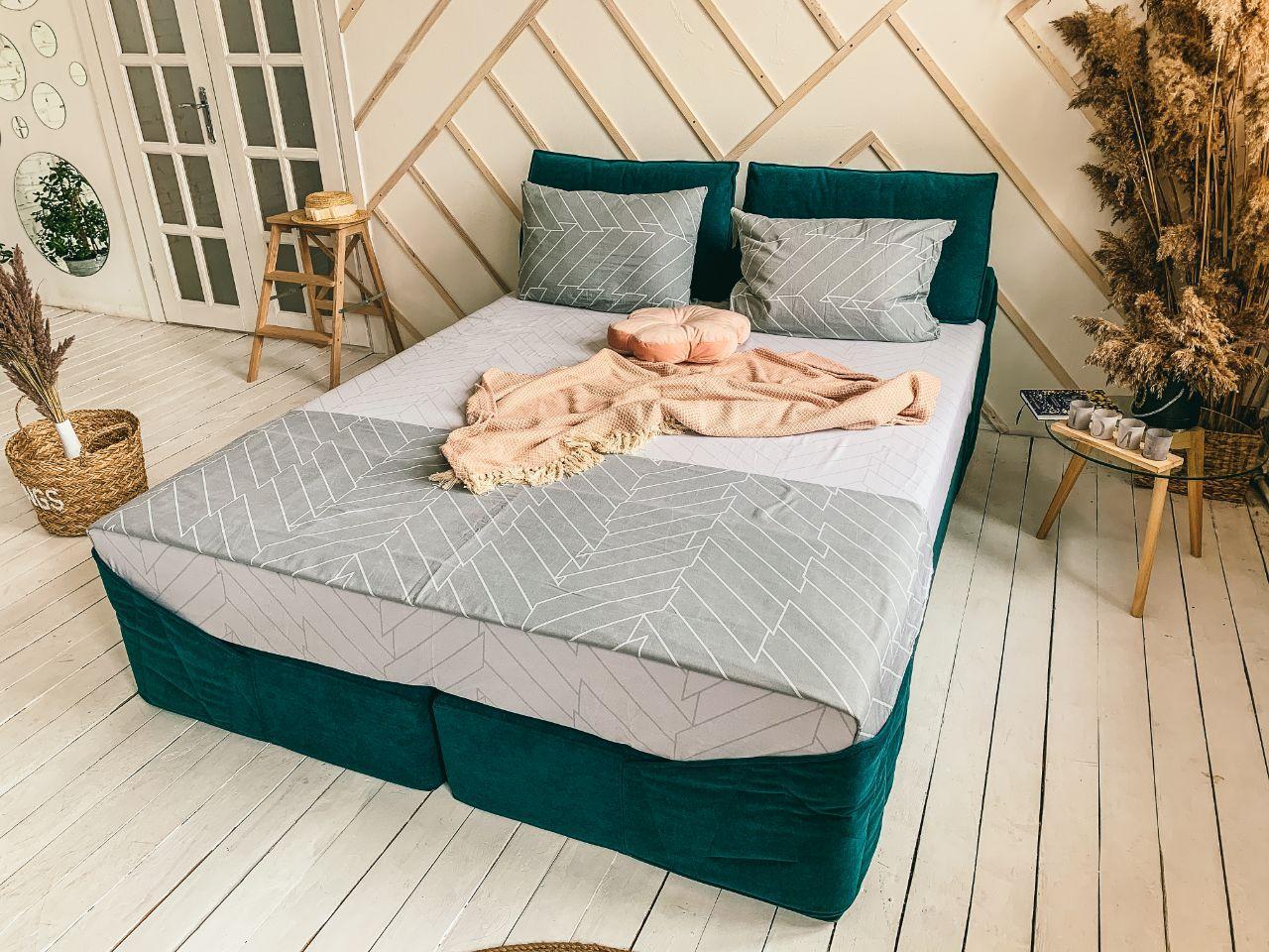 Кровать Дуо 160×220 ( Ладо, Бескаркасная мебель)