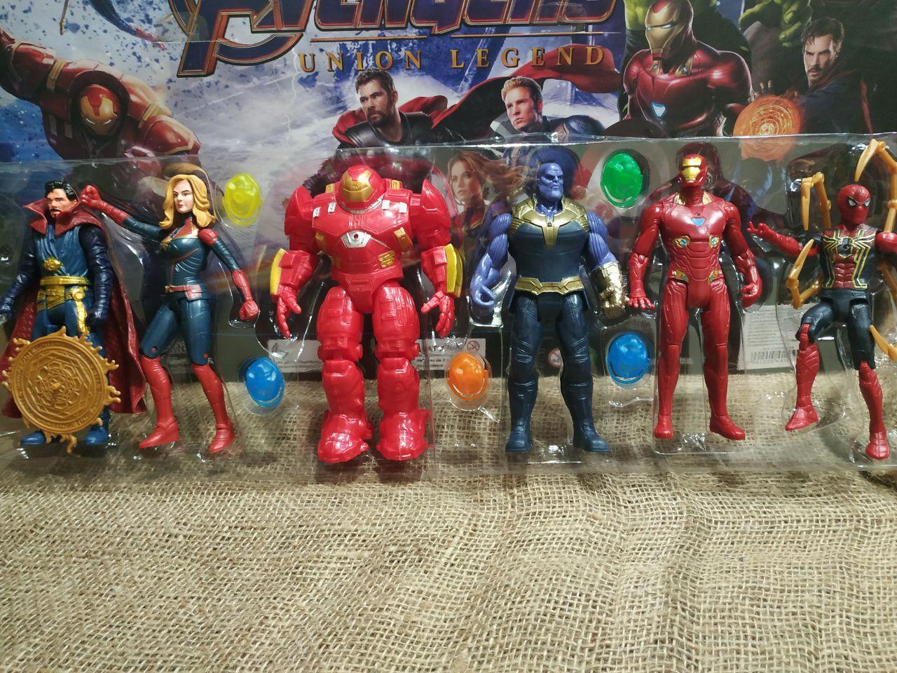 Фигурки Супер-героев 6 штук