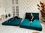 Кровать Дуо 160×220 ( Ладо, Бескаркасная мебель), фото 4