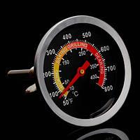 Термометр 10-400 градусов духовки, коптильни, барбекю, гриль, русской печи