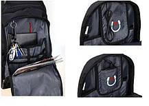 Швейцарский городской рюкзак SWISS BAG с ортопедической спинкой / водонепроницаемый 8810(В подарок Power bank), фото 3