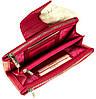 Большой женский кошелек BUTUN 507-004-018 кожаный розовый, фото 4