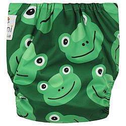 Подгузник многоразовый c вкладышем Frog Berni Kids (3-15 кг)