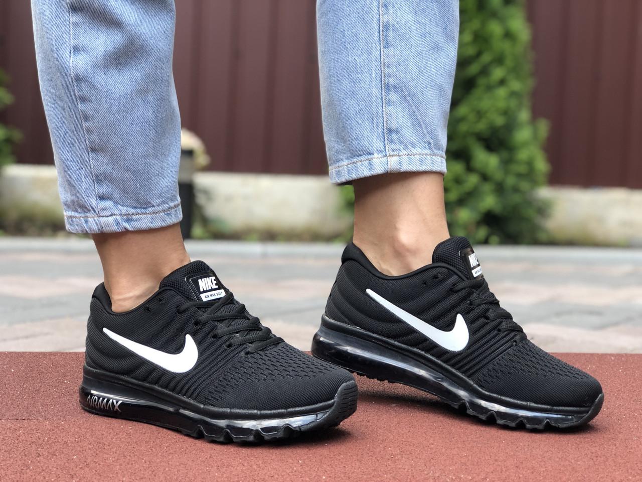 Женские кроссовки Nike Air Max 2017 black/white. [Размеры в наличии: 36,37,38,39]