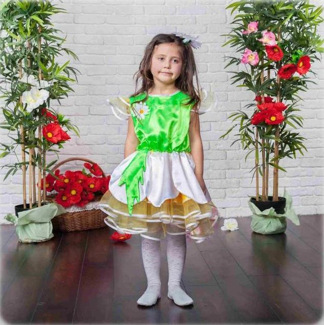 Карнавальное платье Ромашка