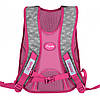 Рюкзак шкільний для дівчинки 1 Вересня S-43 Keit Kimberlin рожевий, фото 2