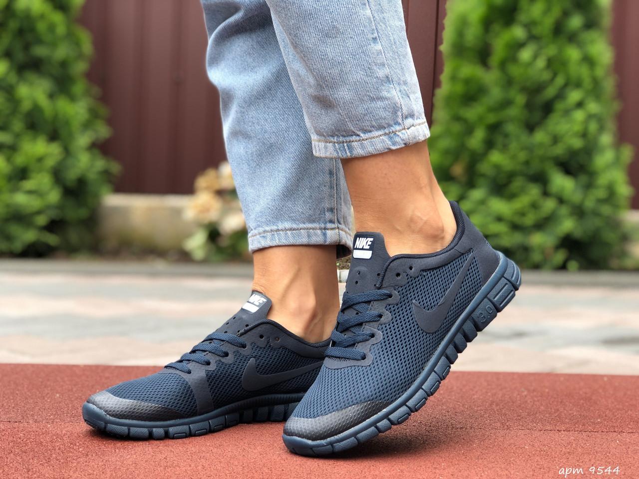 Женские кроссовки Nike Free Run 3.0 blue. [Размеры в наличии: 36,37,38,39,40]