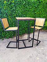 """Комплект барный (стол и стулья) GoodsMetall в стиле Лофт """"Friends"""""""