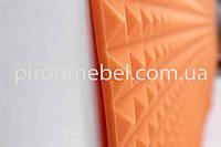 "Акустическая панель ""пирамида "" 1м* 1м ,30 мм оранж, фото 1"
